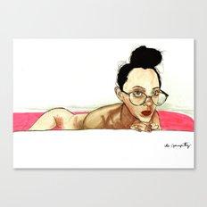 Jane Not Bathing In Blood J/K Canvas Print