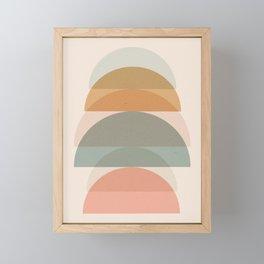 Geometric 01 Framed Mini Art Print