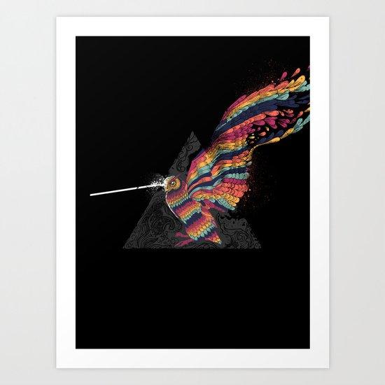 Boooom, Blast & Ruin Art Print