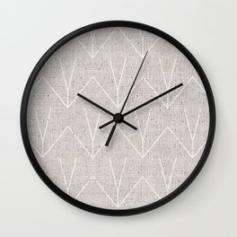 FRENCH LINEN KHALI Wall Clock