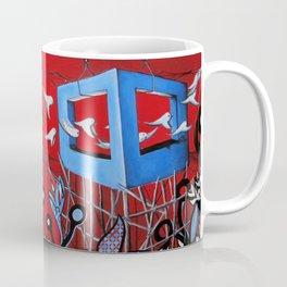 Trapped Bull Coffee Mug