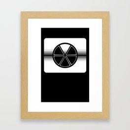 Trivial Pursuit Game Piece Framed Art Print