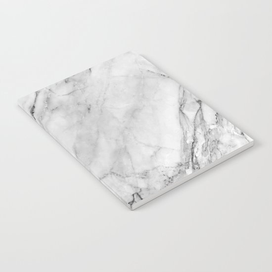 Carrara Marble Notebook