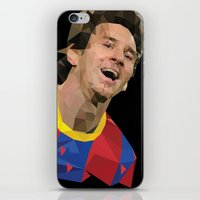 messi iPhone & iPod Skins featuring Messi  by Abhikreationz