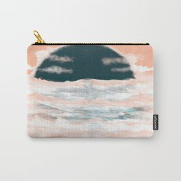 Charcoal  Sunset  Carry-All Pouch