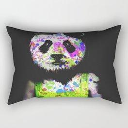 Panda Head Rectangular Pillow