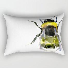 Bumblebee, bee artwork, bee design minimalist honey making design Rectangular Pillow