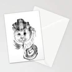 P1R4T3 C4T (Pirate Cat) Stationery Cards