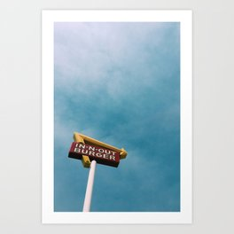 In N Out Art Print