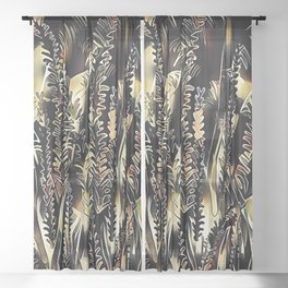 Winters End Sheer Curtain