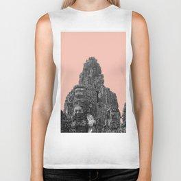 Angkor Wat with beige Biker Tank