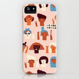 Women day iPhone Case