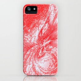 Splatter in Fruit Punch iPhone Case