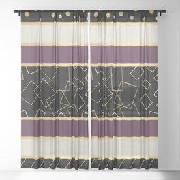 Paris Champs Elysees Sheer Curtain