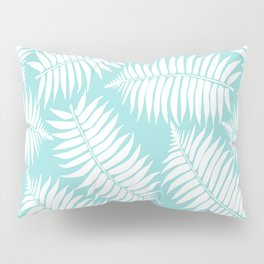 White Leaf Pillow Sham