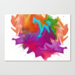Squished Canvas Print