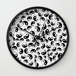 The Yin and the Yang II Wall Clock