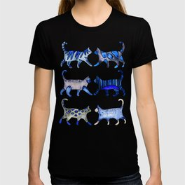 Cat Collection – Blue Palette T-shirt