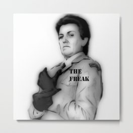 THE FREAK Metal Print