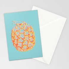 Brit Milah PINEAPPLE - blue Stationery Cards