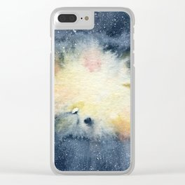 Parturition Clear iPhone Case