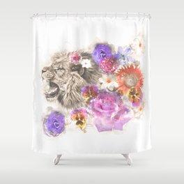 Lion Spirit Shower Curtain