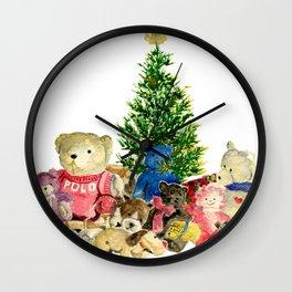 Teddy Bears Wall Clock