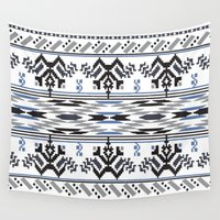 peru Wall Tapestries featuring From Peru to You by Katie Boland