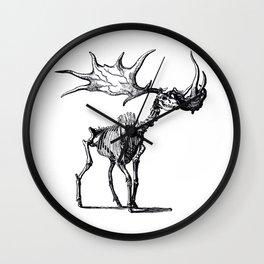 The Irish elk Wall Clock