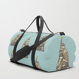 Christmas Tree  Sloths Duffle Bag