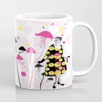 mushroom Mugs featuring Mushroom by Emilie Ramon