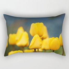 Yellow Tulips Rectangular Pillow