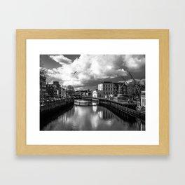 Cork City Framed Art Print