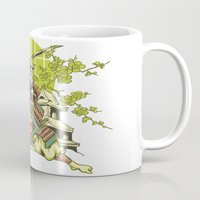 asian Mugs featuring Asian spring by Tshirt-Factory