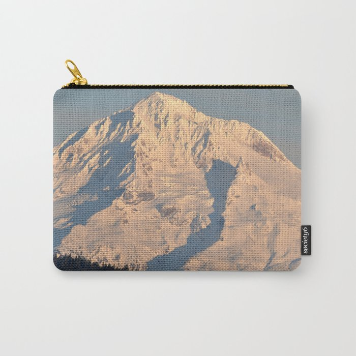 Twilight Over Mount Hood Carry-All Pouch