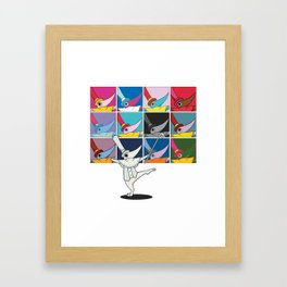 FOOL! Framed Art Print