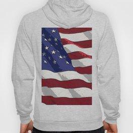 Fancy Flag:  USA 3 Hoody