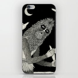 Thievery in the Woods iPhone Skin