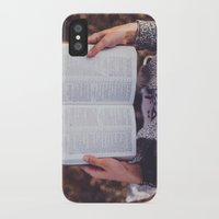 bible verses iPhone & iPod Cases featuring Bible by Johnny Frazer