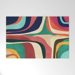 Impossible contour map Welcome Mat