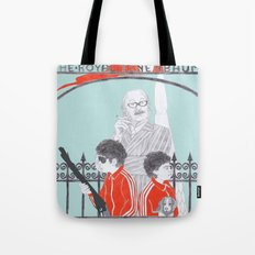Me and Julio Down By The Schoolyard Tote Bag