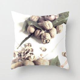 Food still life, macro photography, fine art for kitchen decor, home, interior design Throw Pillow