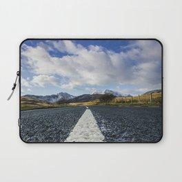 Road To Snowdon Laptop Sleeve