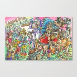 Eighties Toypocalypse  Canvas Print