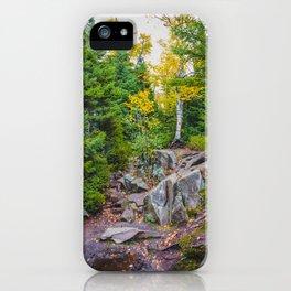 Artist Point Trail, Grand Marais, Minnesota 23 iPhone Case