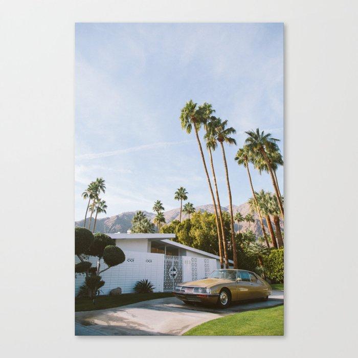 Palm Springs Mid Century Modern 1 Canvas Print