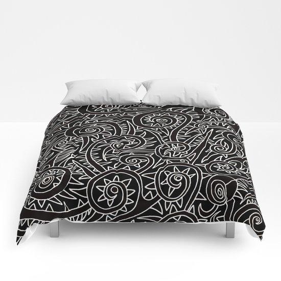 - burnt - Comforters