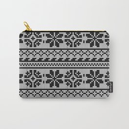 Pattern in Grandma Style #22 Carry-All Pouch