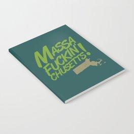 Massa-Fuckin'-Chusetts! (color) Notebook