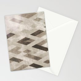 Abstract Pattern in Subtle Stationery Cards